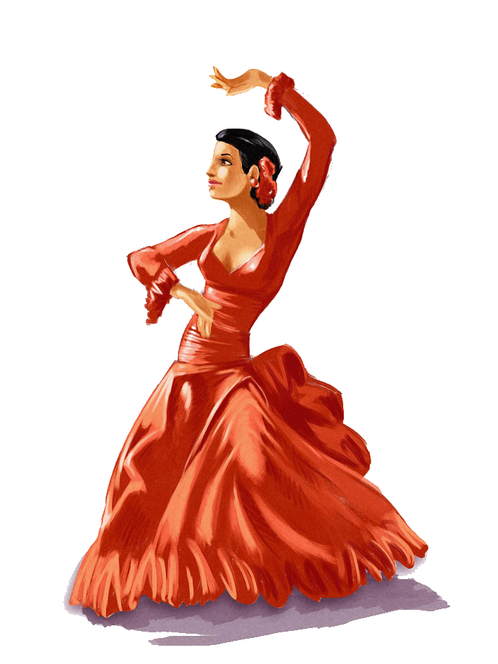 Flamenco dancer pictures posters news and videos on - Dessin danseuse de flamenco ...